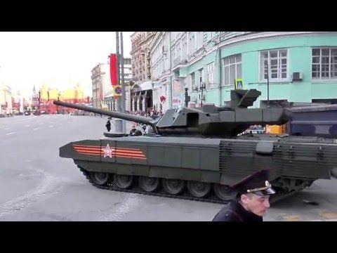 Русский танк Т-14 Армата припарковался!) ! RUSSIAN Т-14 ARMATA PARKED, PARKING TANK!