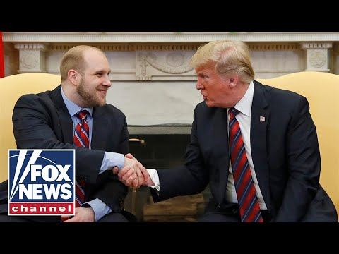 President Trump welcomes Joshua Holt home