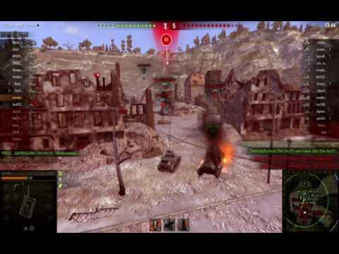 World of Tanks первые бои Новичка  танк  merkabes