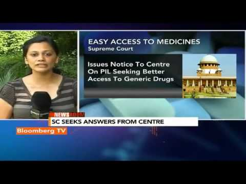 Newsroom- Generic Drugs PIL: SC Seeks Answers From Centre