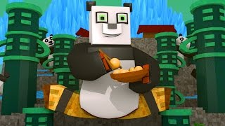 Kung Fu Panda 3 Movie - Panda Adventure! (Minecraft Roleplay)