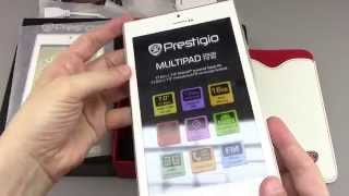 PRESTIGIO MultIPad Color 7 0 3G Unboxing HD