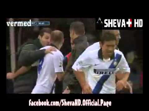 Inter Milan Vs Bologna 3-1 - Esteban Cambiasso