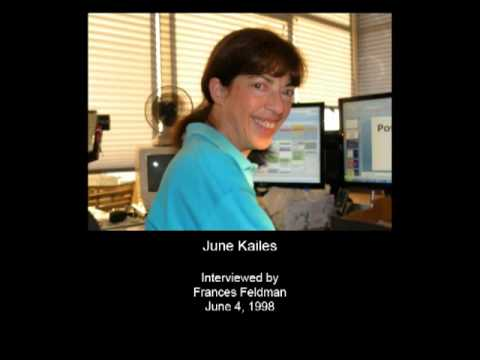 Kailes, June - Oral History Interview - CSWA