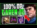 NEW Speed Garen JUNGLE is ACTUALLY OP! | Garen Guide Season 11 + Best Build/Runes League of Legends thumbnail