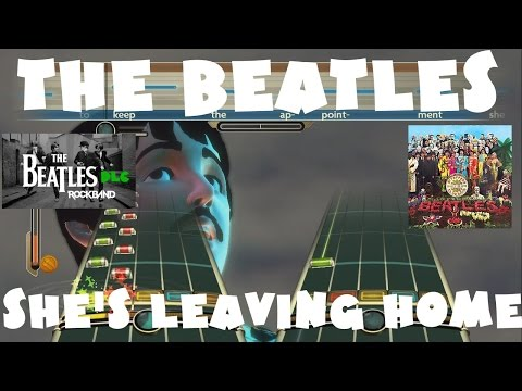 The Beatles - She's Leaving Home - The Beatles Rock Band DLC Expert Full Band (November 17th, 2009)