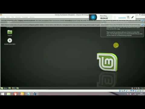 "Tutorial Menginstal Linux Turunan Ubuntu ""Linux Mint"" Dengan Virtual Box"