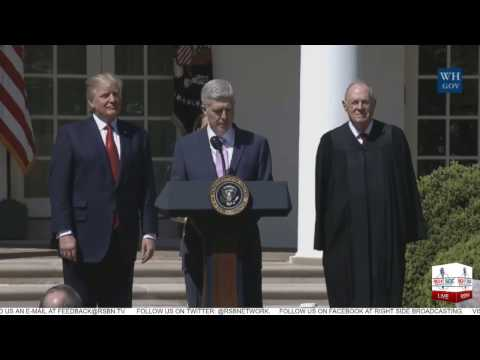 FULL: Swearing In Ceremony of Supreme Court Justice Gorsuch