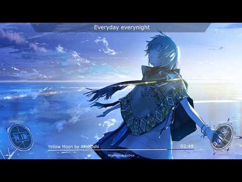 Nightcore - Yellow Moon by Akaboshi + Romaji Lyrics