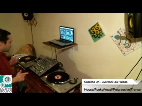 Guanche UK - House/Funky/Vocal/Progressive @ Active Sound Radio 14 May 2016