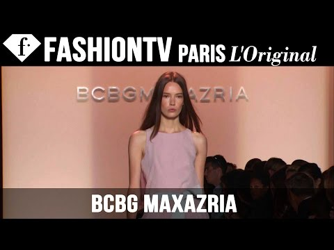 Bcbgmaxazria Spring summer 2015 Runway Show   New York Fashion Week Nyfw   Fashiontv video
