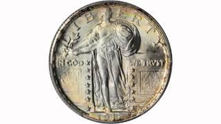 Lot 11372: 1918 Standing Liberty Quarter. MS-68 FH (PCGS).