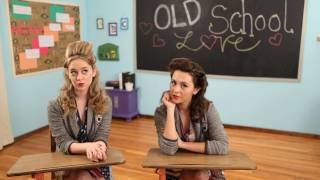 Watch Megan  Liz Old School Love video