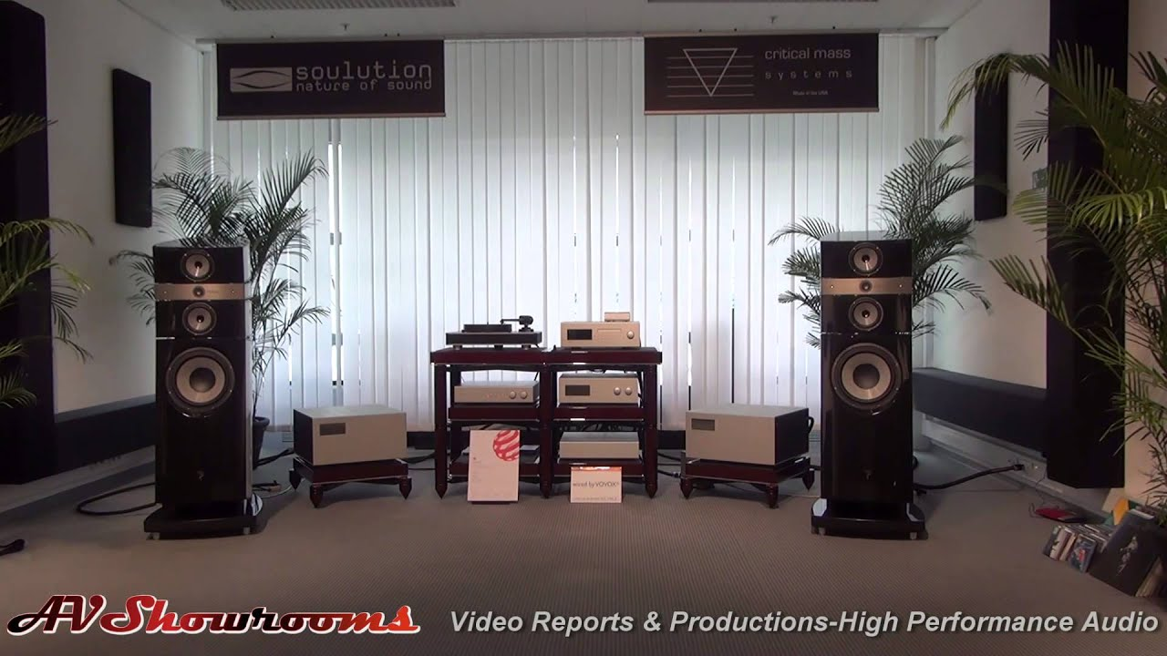 Soulution Amps Critical Mass Racks Progressive Audio