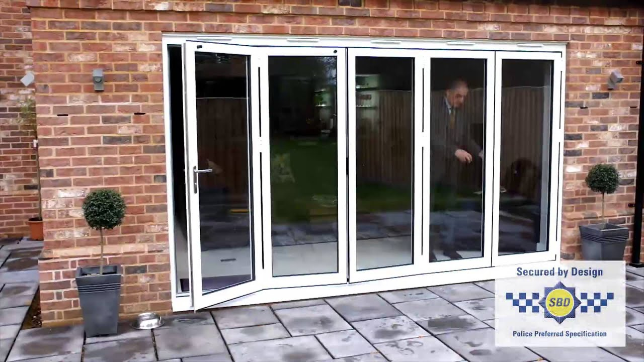 Choices Aluminium Multi Fold Sliding Doors Youtube