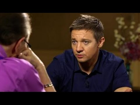 Hawkeye Doesn't Die in Avengers: Age of Ultron | Jeremy Renner | Larry King Now Ora TV