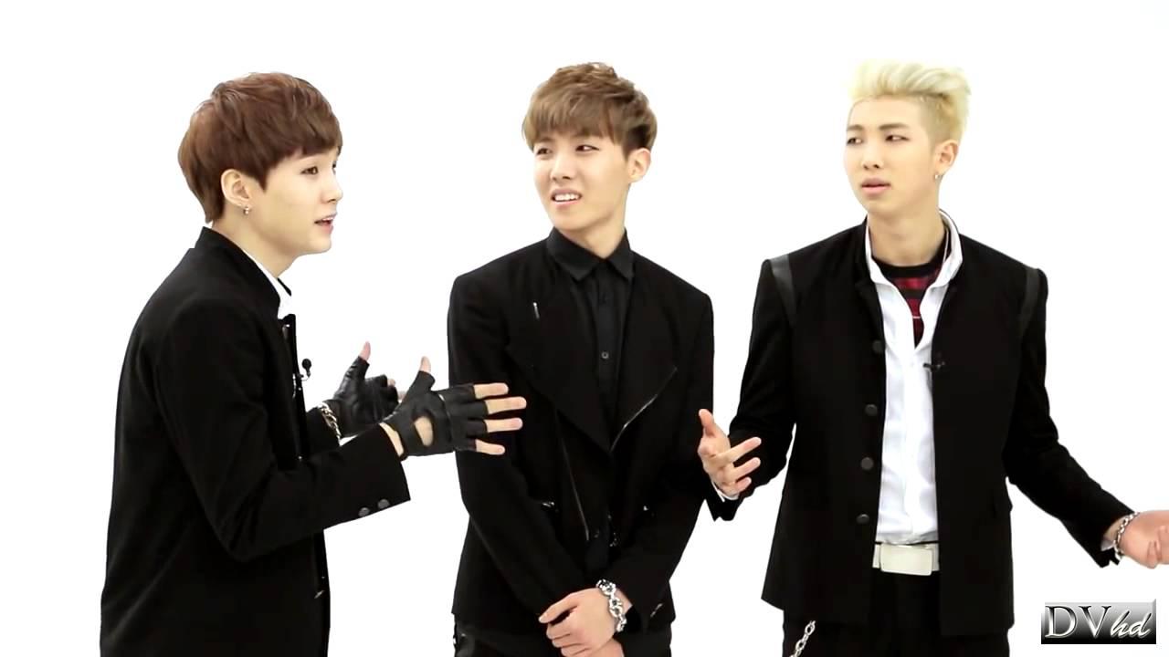 Bangtan Boys (BTS) - Boy in Luv (dance tutorial) DVhd ...