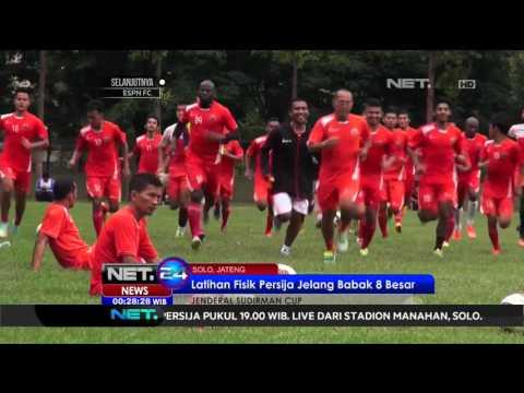 Latihan Fisik Persija Jelang Babak 8 Besar - NET24
