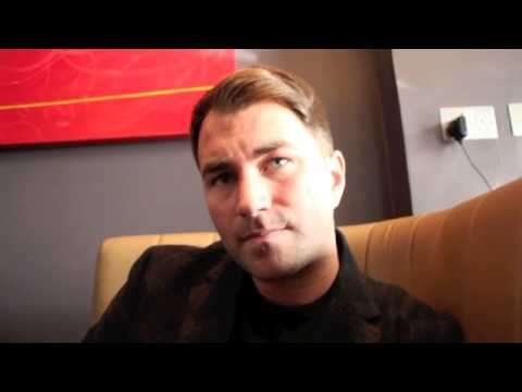 EDDIE HEARN ON KELL BROOK / JUAN MANUEL MARQUEZ, JOSHUA INURY & UPDATE ON FROCH / IBF/ DeGALE