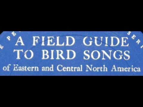 Roger Tory Peterson: Audio Field Guide To Bird Songs of Eastern and Central North America - 1961 LP