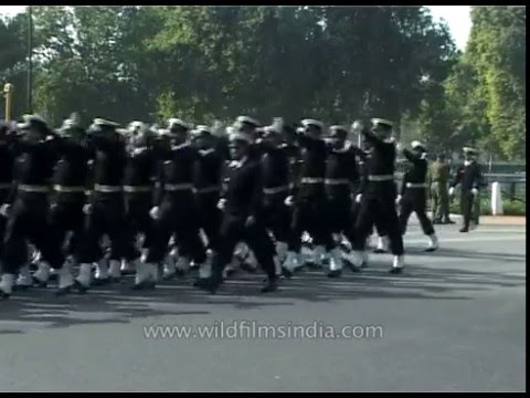 Indian Army Music Band Marching On Republic Day Parade video