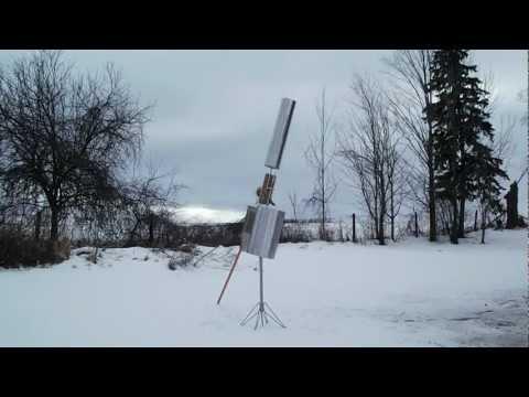 Flettner/Savonius Hybrid Windmill 3