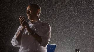 Barack in the Virginia Rain: &quot;There&#039;s Nothing We Can&#039;t Do&quot;