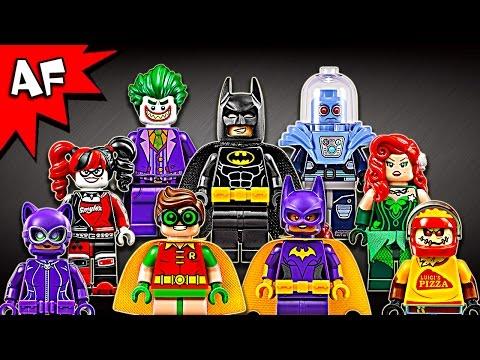 Lego Batman Movie Minifigures 2017 Complete Collection Review