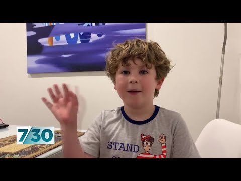 More children send messages to isolated grandparents | 7.30