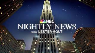 """""""NBC Nightly News"""" Open with Whoosh Sound Effect"""