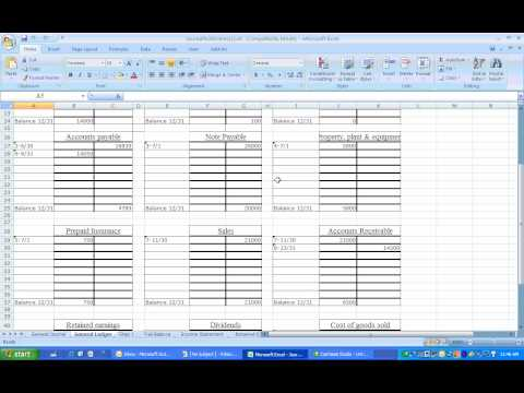 Financial Accounting Journal Entries with downloadable workbook