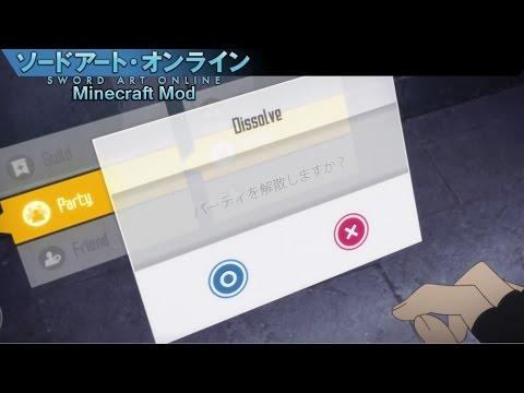 Minecraft Mod Reviews  Sword Art Online Mod  - 1.8 -