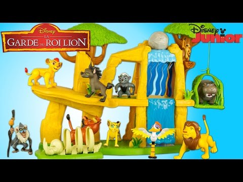 The Lion Guard Defend The Pride Lands Playset Disney Junior 10 Figures Toy Preschool Review Juguetes
