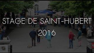 Stage Trompe de Chasse Saint-Hubert 2016