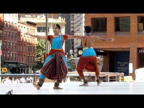 Bharatanatyam At Downtown Dance Festival Nyc video