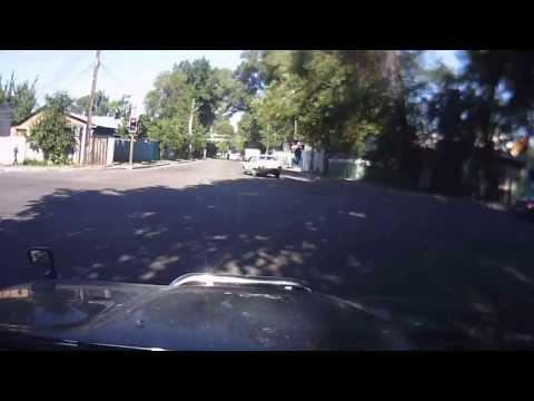 Алматы авария 8 июня 2013г., 8ч.20м, утра пересечение улиц Жангильдина Баянаульская