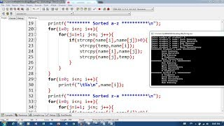 51. Sort String in Array and String Method   Khmer Computer Knowledge