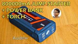 800000mA Jump Starter & Multi Purpose Power Bank Review!