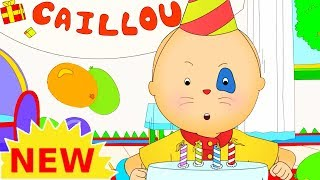 NEW! CAILLOU BIRTHDAY PARTY | Videos For Kids | Funny Animated Videos For Kids