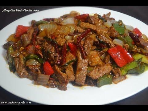 Mongolian beef - Comida China
