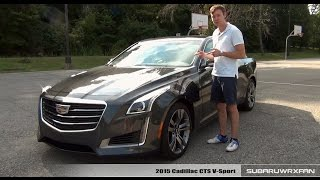 Review: 2015 Cadillac CTS V-Sport