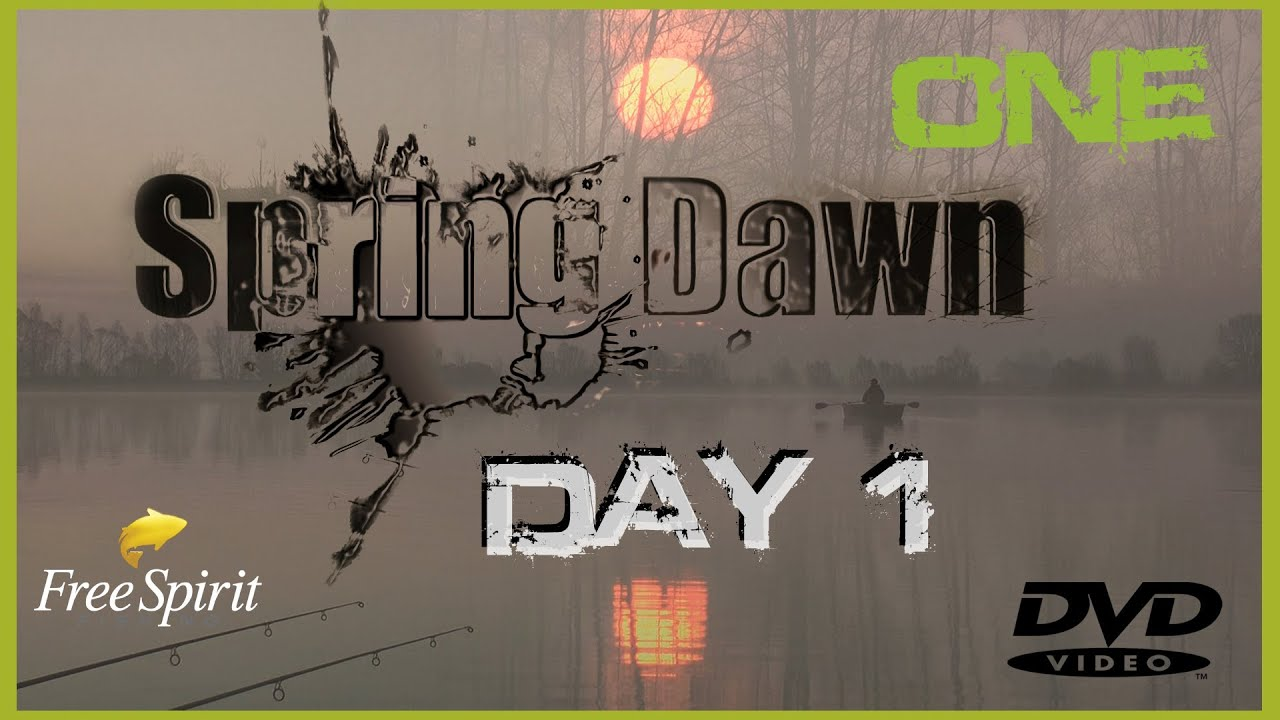 Carp fishing free spirit spring dawn dvd day 1 youtube for How much is a one day fishing license