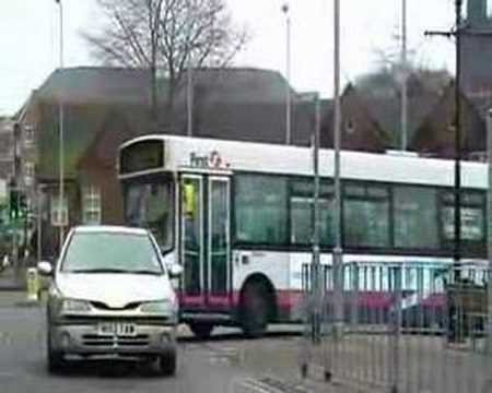 This is Part 1 of three video's from around the Potteries on 18th December 2007, this first one is from Newcastle-under-Lyme bus Station.