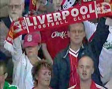 Liverpool - Tfc - You'll Never Walk Alone video
