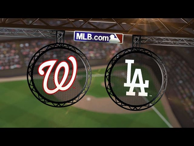 9/1/14: Span, Nationals power past Dodgers in win