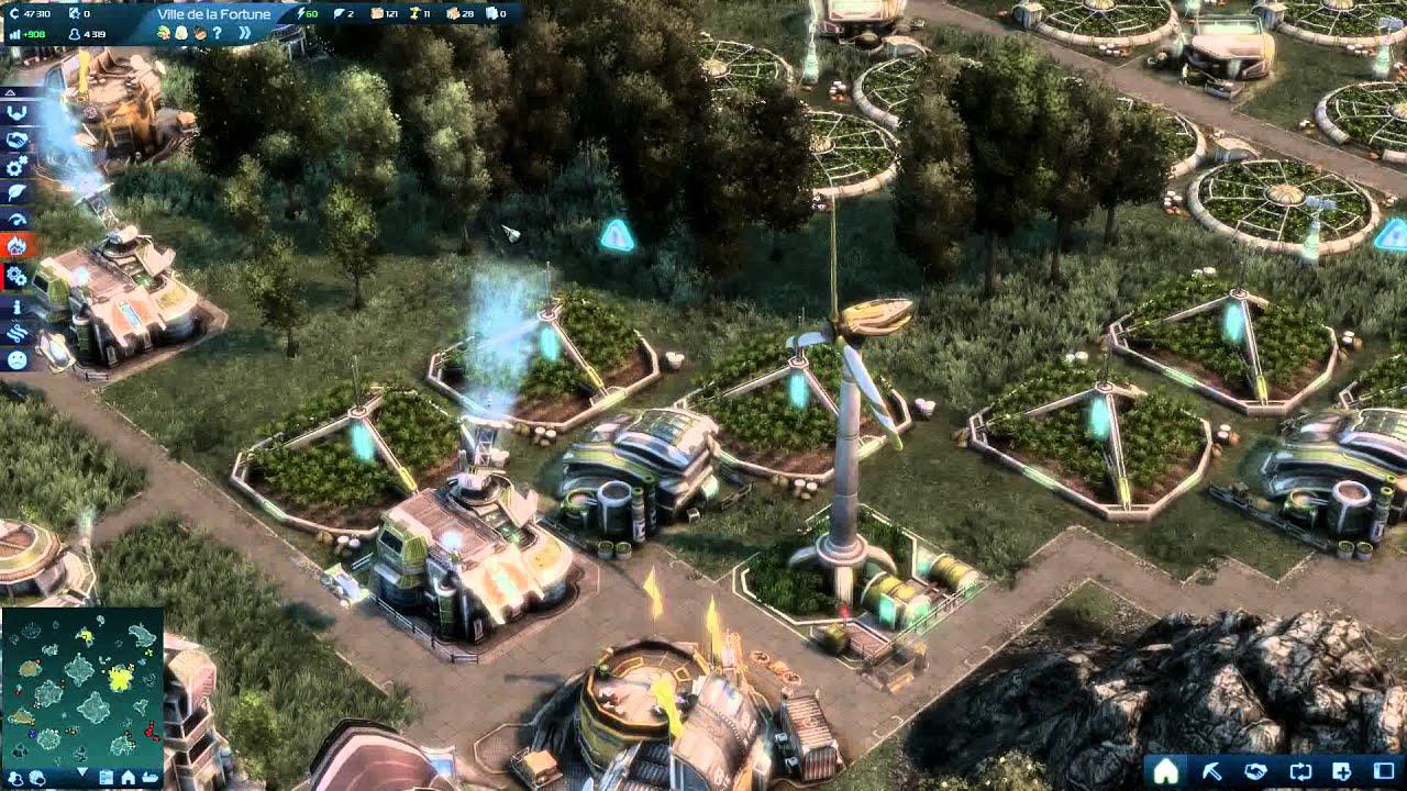 Anno 2070 pr sentation d 39 une ville eco youtube for Anno 2070 find architect