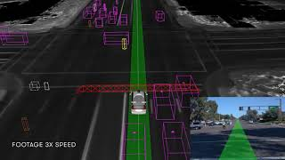 Waymo's self-driving car navigates a police controlled intersection