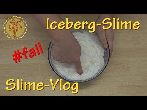 Slime-Vlog: Iceberg-Slime - #fail