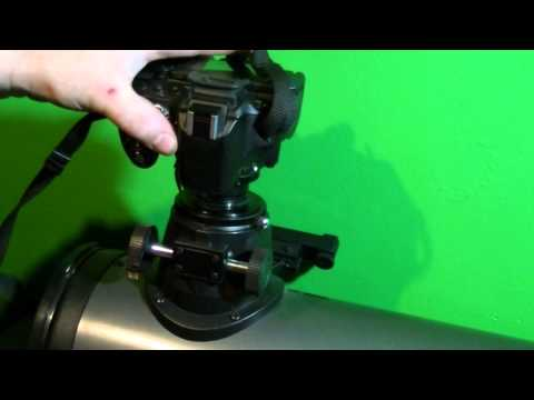 Mounting a Nikon Camera to a Telescope with test footage