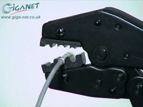 Fiber Optic Termination- How to terminate fiber optic cable using Giganet Fibre Optic connectors